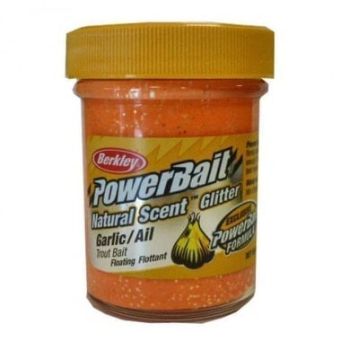 PB - Natural Scent Glitter Garlic - Fluorescent Orange Суха захранка