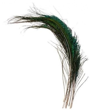 JMC Fly Fishing Peafowl feather Перо паун Топ