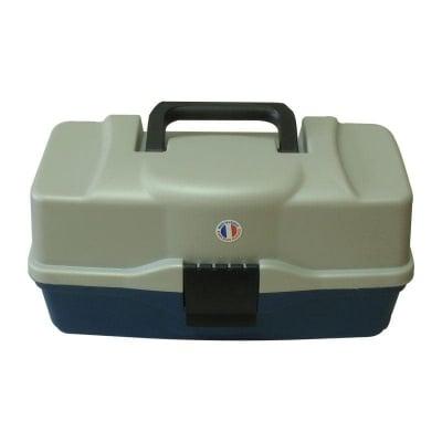Plastilys BOX-L3P Куфар 3 нива голям син овал