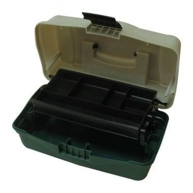 Plastilys BOX-M1P Куфар 1 ниво зелен овал