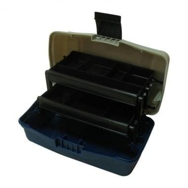 Plastilys BOX-M2P Куфар 2 нива голям син овал