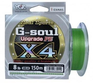 YGK Real Sports G-soul x4 Upgrade PE- 100m Платено влакно 4 нишково