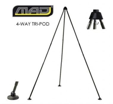 DAM MAD® 4-WAY TRI-POD Стойка за претегляне на риба