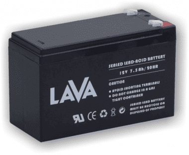 LAVA 12V/7.5Ah Акумулатор