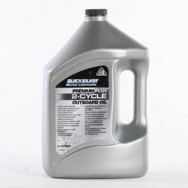 QUICKSILVER Premium Plus 4л. Двутактово масло