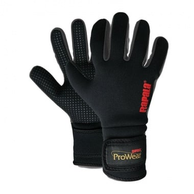 Rapala ProWear Montauk Neoprene Black Ръкавици XL (24406-1)