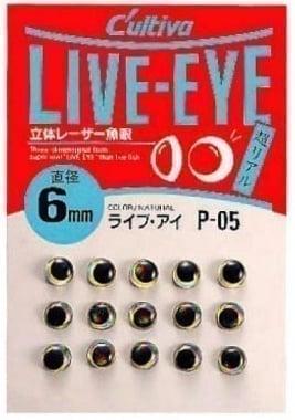 Owner Live-Eye Триизмерни очи за изкуствени примамки