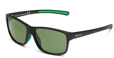 River HDG - Lente verde in fibra di vetro Очила