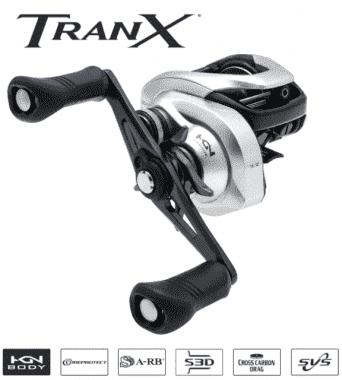 Shimano Tranx 301 A (LH) Мултипликатор