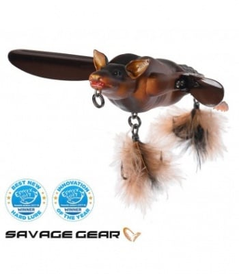 Savage Gear 3D Bat 12.5cm Brown Воблер прилеп