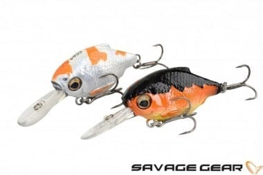 Savage Gear 3D Crucian Crank 46 SF SR Воблер