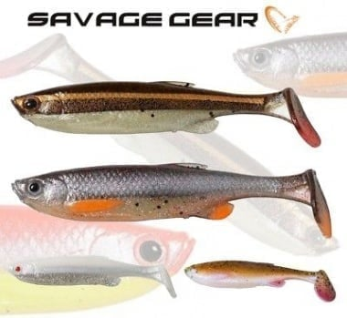 Savage Gear 3D Fat Minnow T-Tail 10.5cm Силиконова примамка