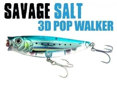 Savage Gear 3D Minnow Pop Walker 6.6cm Воблер