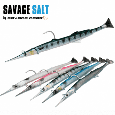 Savage Gear 3D Needlefish Pulsetail 2+1 30см Силиконова примамка