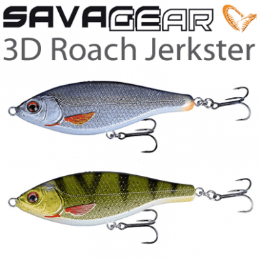 Savage Gear 3D ROACH JERKSTER Воблер