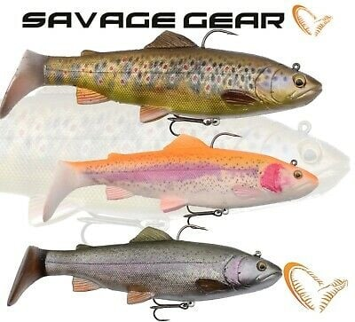 Savage Gear  4D Trout Spin Shad 11cm Силиконова примамка