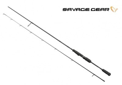 Savage Gear BLACK SAVAGE SPIN Въдица