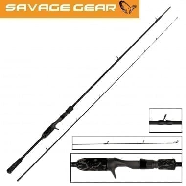 Savage Gear Black Savage Trigger Въдица