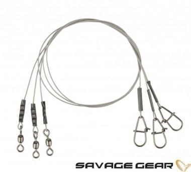 Savage Gear Carbon49 Trace 30cm Метален повод