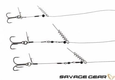 Savage Gear Corkscrew Release Rig Стингер