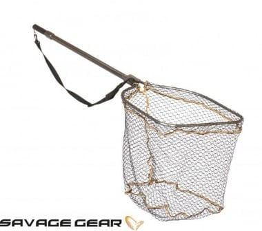 Savage Gear Full Frame Rubber Mesh Landing Net Кеп