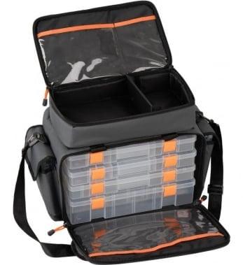 Savage Gear Lure Specialist Bag M 6 boxes Чанта + 6 кутии за примамки