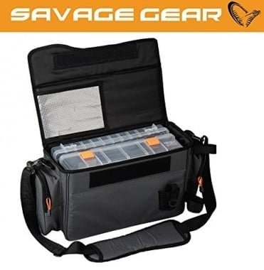 Savage Gear Lure Specialist Shoulder Bag L 2 Boxes Чанта + 2 кутии за примамки