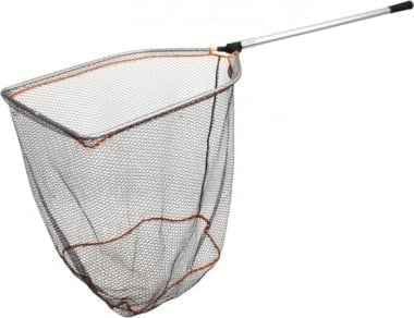 Savage Gear Pro Folding Rubber Large Mesh Landing Net XL Кеп