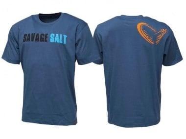 Savage Gear Salt Tee Тениска синя