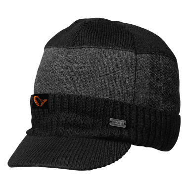 Savage Gear #SAVAGE Knitted Beanie w/Brim Шапка зимна