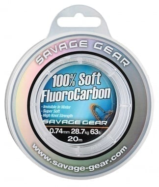 Savage Gear Soft Fluoro Carbon Флуорокарбон