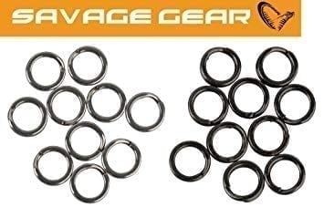 Savage Gear Stainless Splitring Mix Forged Халки