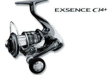 Shimano EXSENCE CI4+ Макара с преден аванс