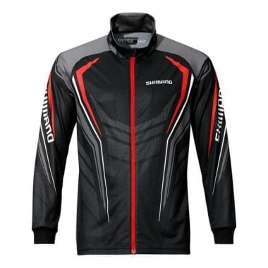 Shimano Full Zip Print Shirt Блуза с цип