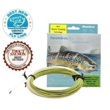 Snowbee XS Plus Thistledown Floating Fly Line WF 2/5 Шнур
