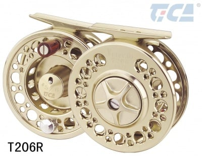 Tica VETERAN T206R Fly Reel макара + 1 шпула