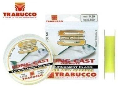Trabucco S-FORCE LONG CAST SALT WATER 150m Монофилно влакно
