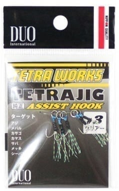 DUO Tetra Jig Assist Hook TW-SC Куки асист