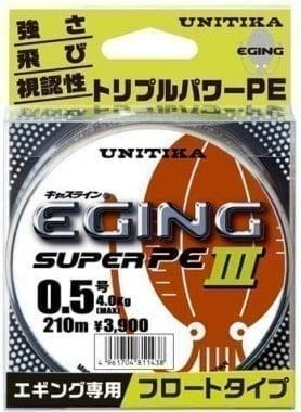 Unitika Eging Super PE III 150 m Плетено влакно