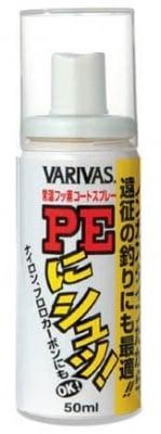 Varivas PE-ni-shoo NonGas spray Смазка за плетени влакна