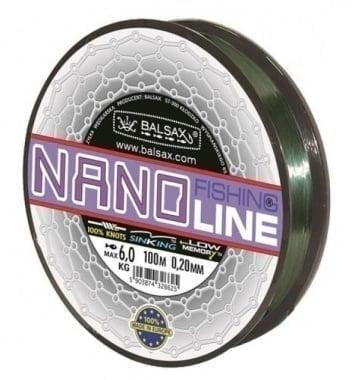 BALSAX NANO Fishing Line Монофилно влакно