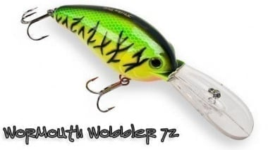 Strike Pro Wormouth Wobbler 72mm (EG-038) Воблер