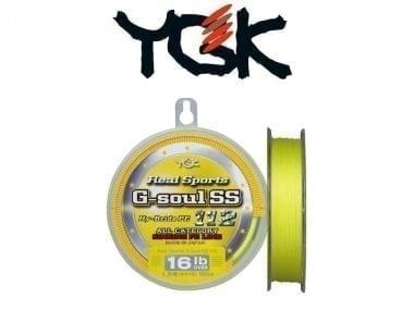 YGK Real Sports G-soul SS 150 m Плетено влакно