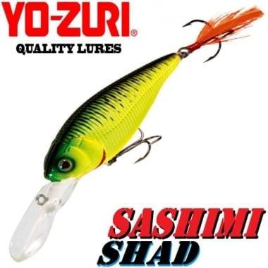 Yo-Zuri Sashimi Shad 70mm 9.5g R 1018 Воблер