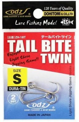 ZH-18T Tail Bait Twin Единични куки
