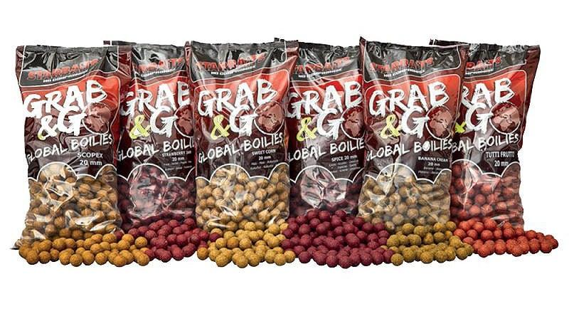 Starbaits G&G GLOBAL 2.5кг Захранка протеинови топчета