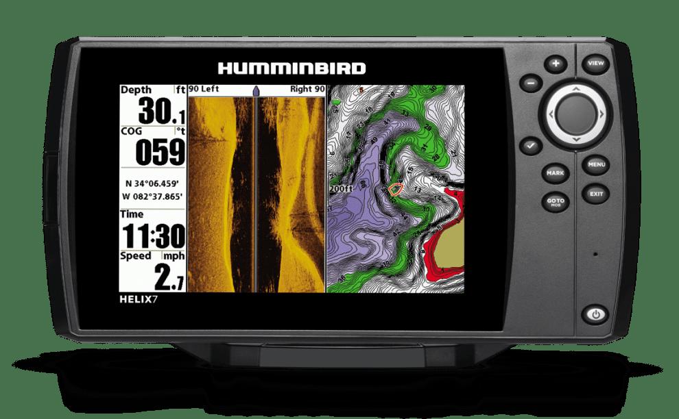 Humminbird Helix 7 SI GPS Сонар