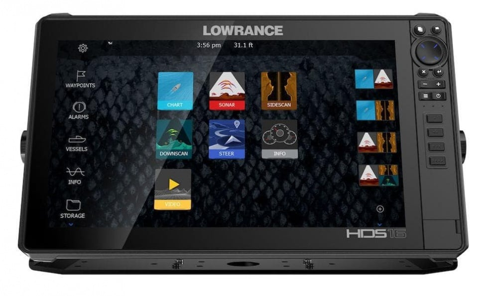 Lowrance HDS 16 LIVE TotalScan Сонар