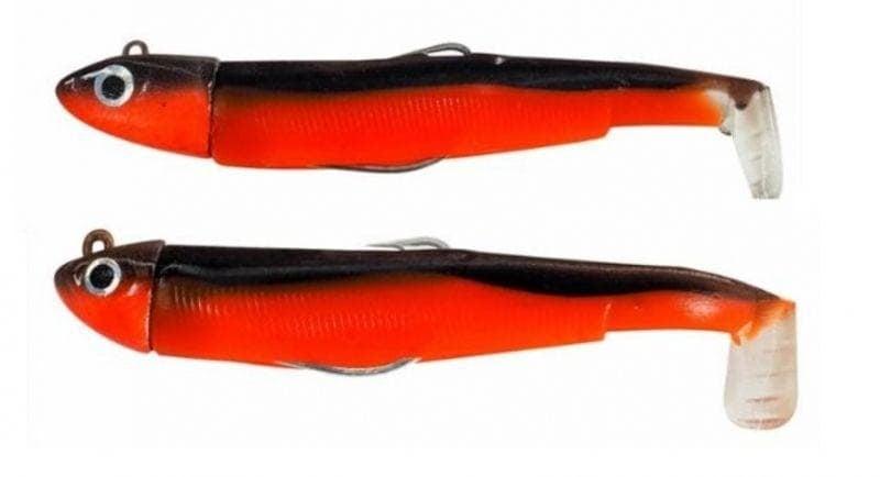 Fiiish Black Minnow Double Combo №1, 7cm, 3g+6g Комплект Red Minnow