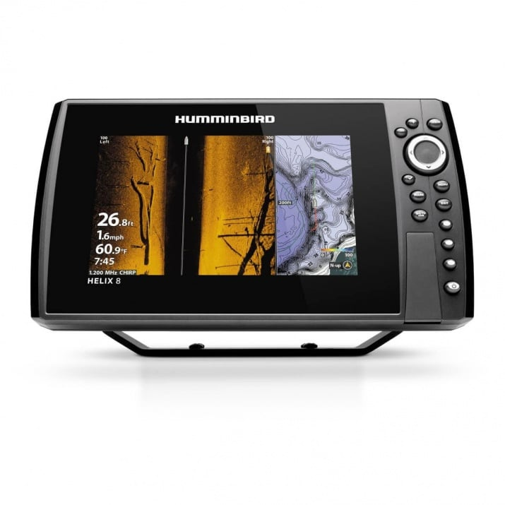 Humminbird HELIX 8 CHIRP GPS DS G3N Сонар 4
